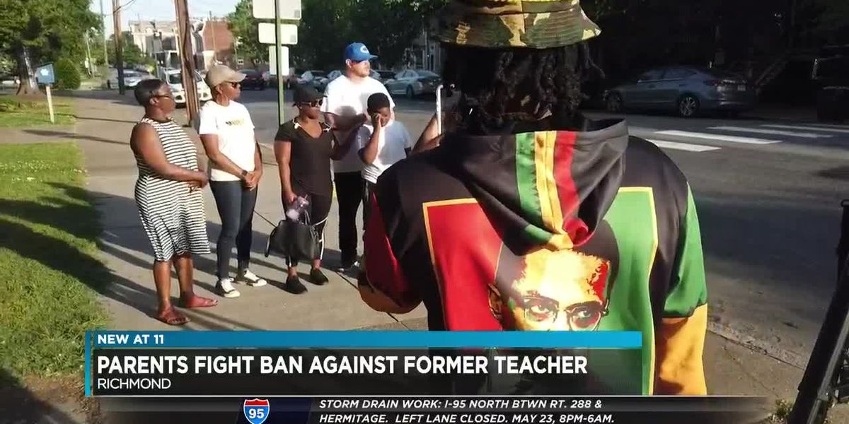 Parents fight ban of former RPS teacher