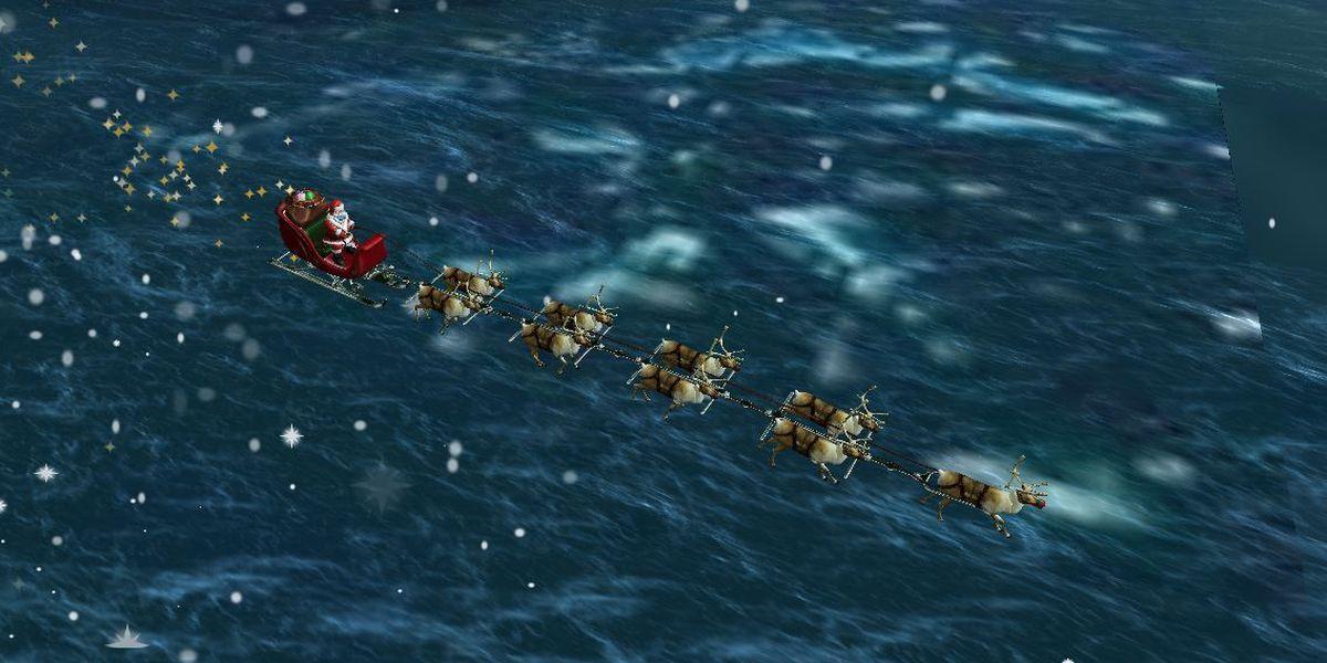 NORAD's Santa Tracker follows St. Nick's trek around globe