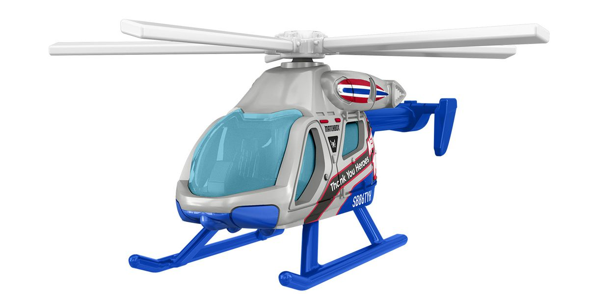 Mattel adds news helicopter, delivery trucks to its #ThankYouHeroes toys