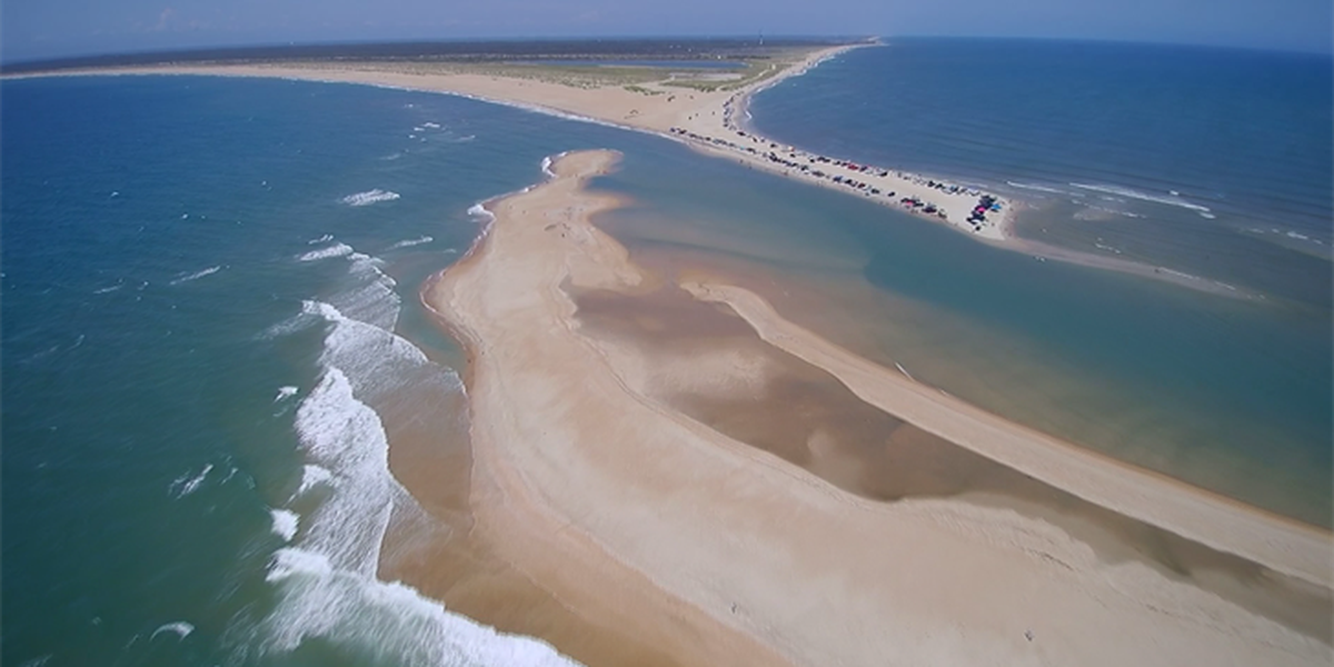 New island appears in the Outer Banks