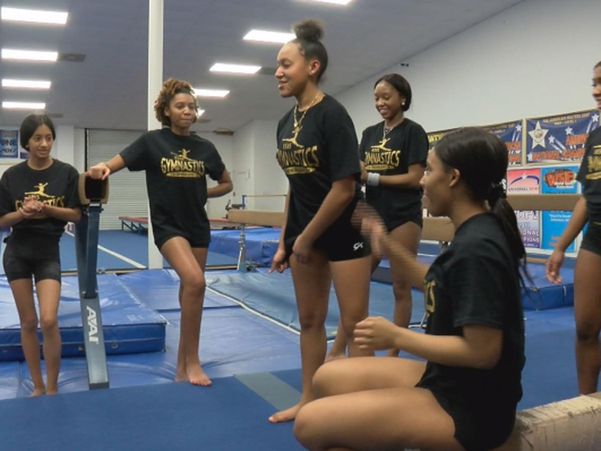 Highland Springs gymnastics program springing forward