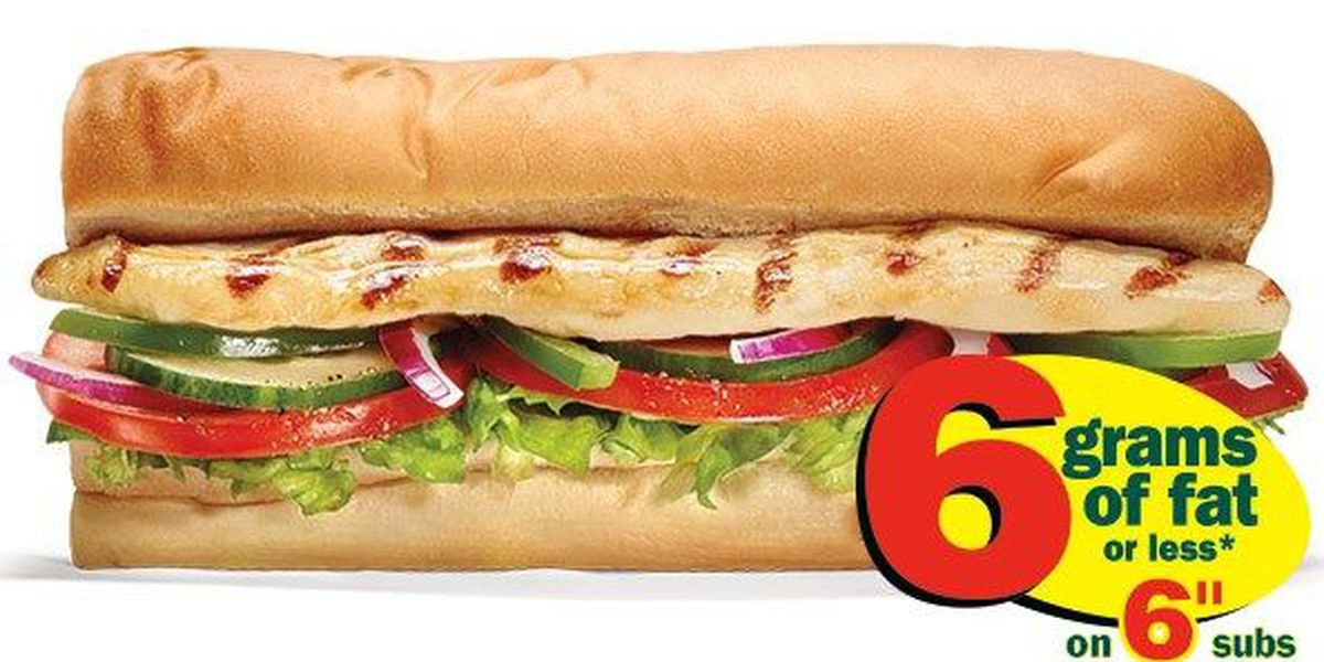 Subway's chicken made of only 50% chicken, study says