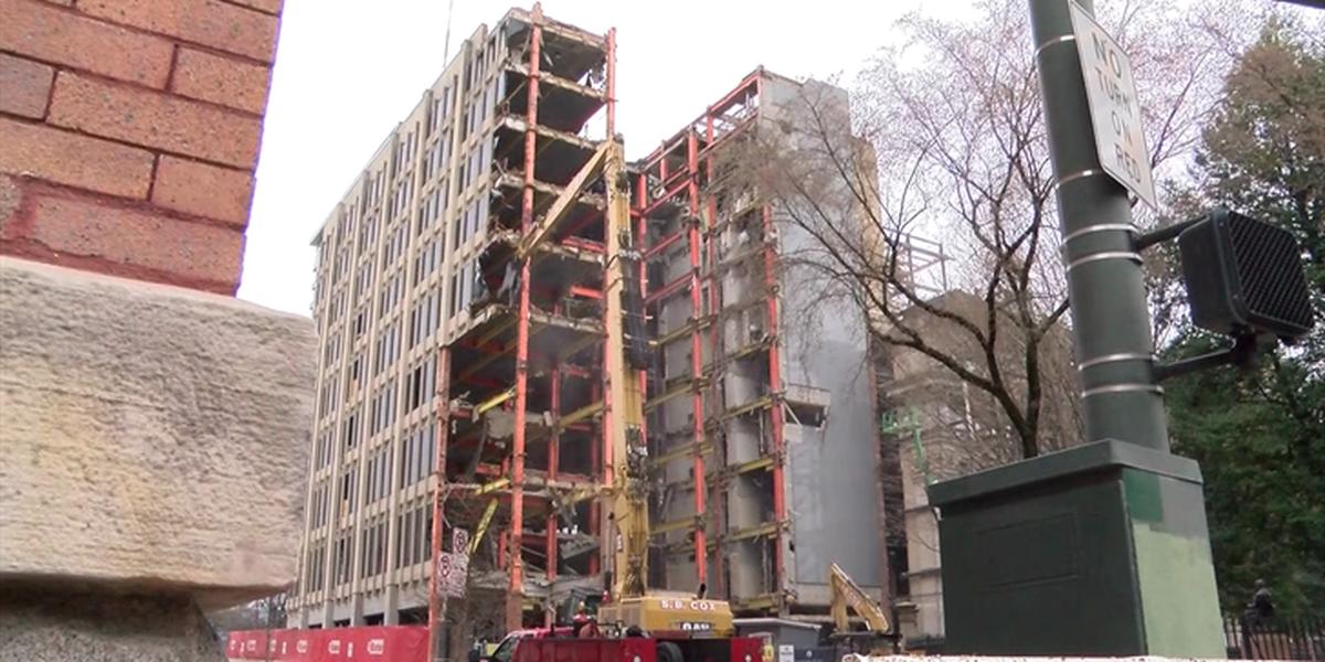 Crews start demolition on General Assembly building