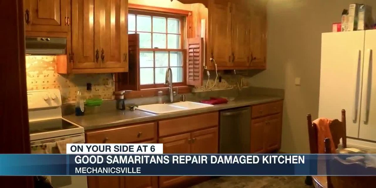 Good Samaritans repair damaged kitchen for grieving Mechanicsville woman