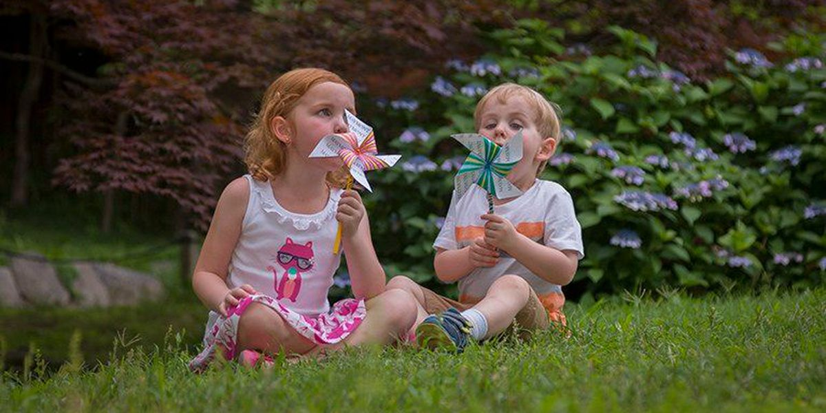 Children can plant pinwheel at Maymont for abuse, neglect prevention