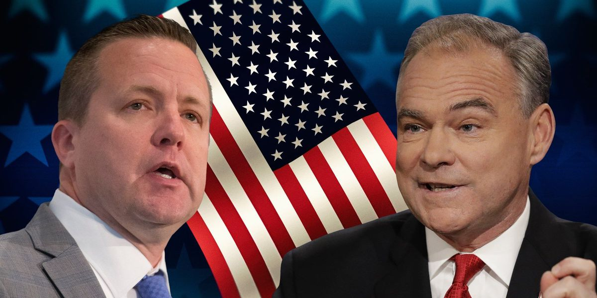 Kaine-Stewart take jabs, spar over Supreme Court allegations