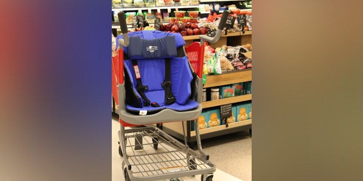 Kroger adds carts for children with disabilities