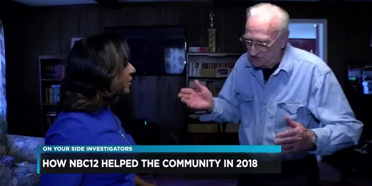 How NBC12 helped the community in 2018