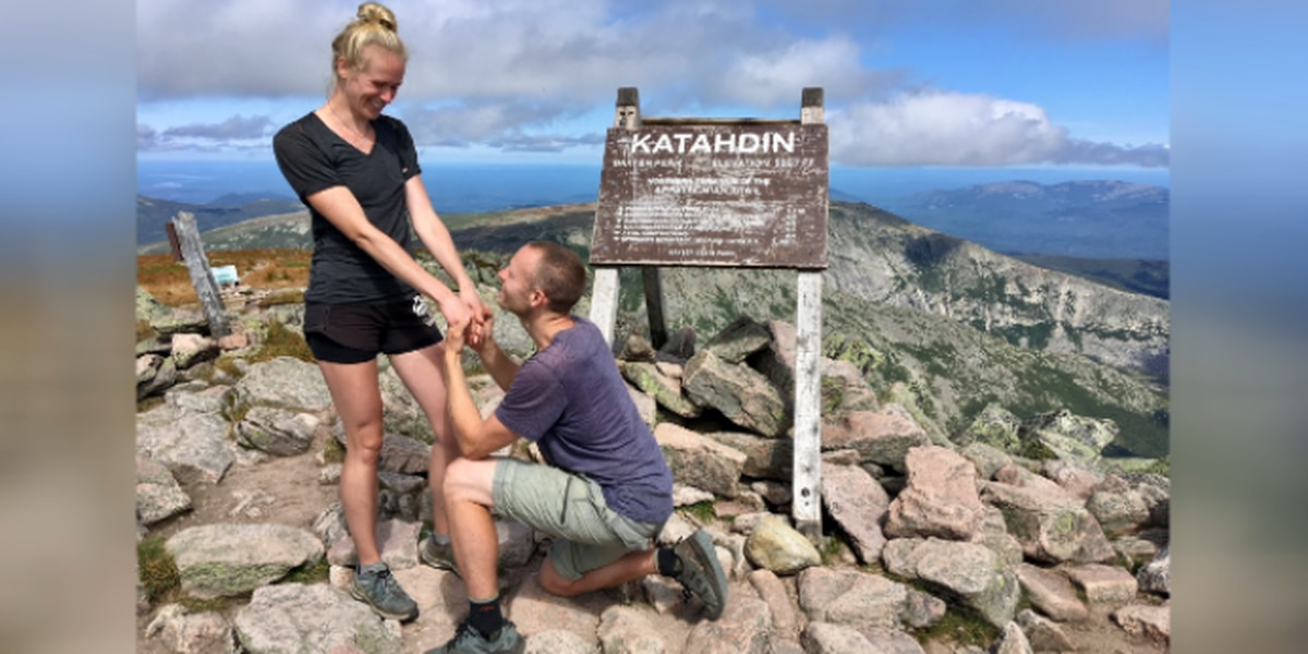 Virginia couple hikes entire Appalachian Trail and gets engaged