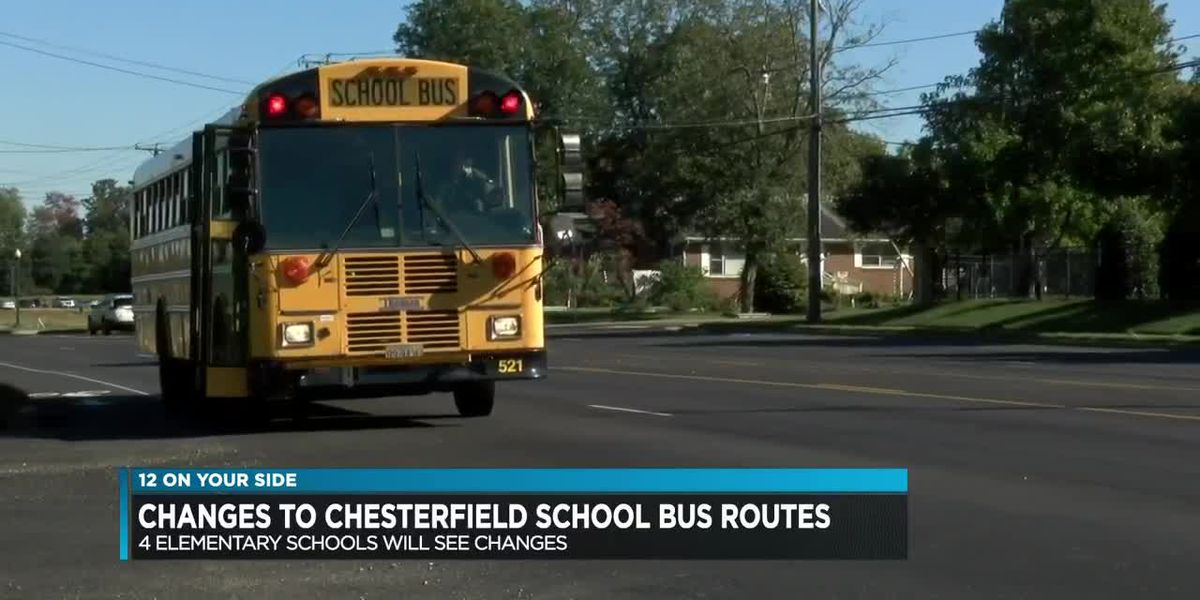 Chesterfield alters school bus routes; parents concerned about overcrowding