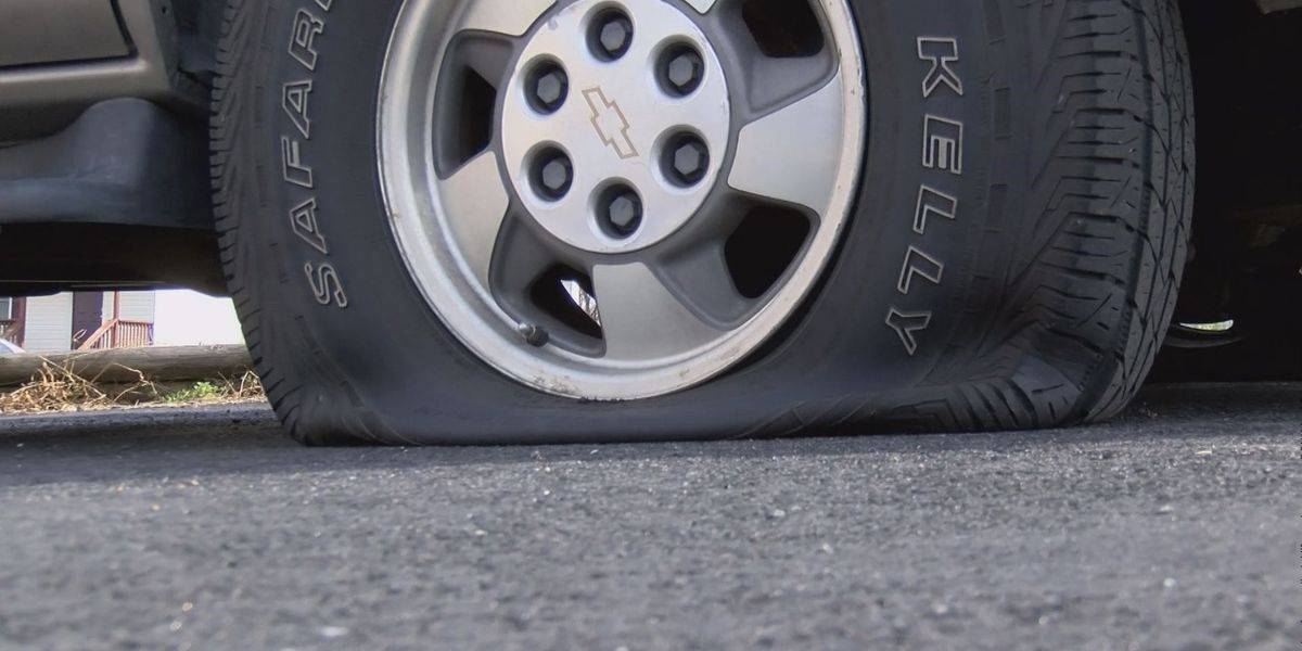 Henrico Neighbors Furious After Several Tires Slashed Overnight
