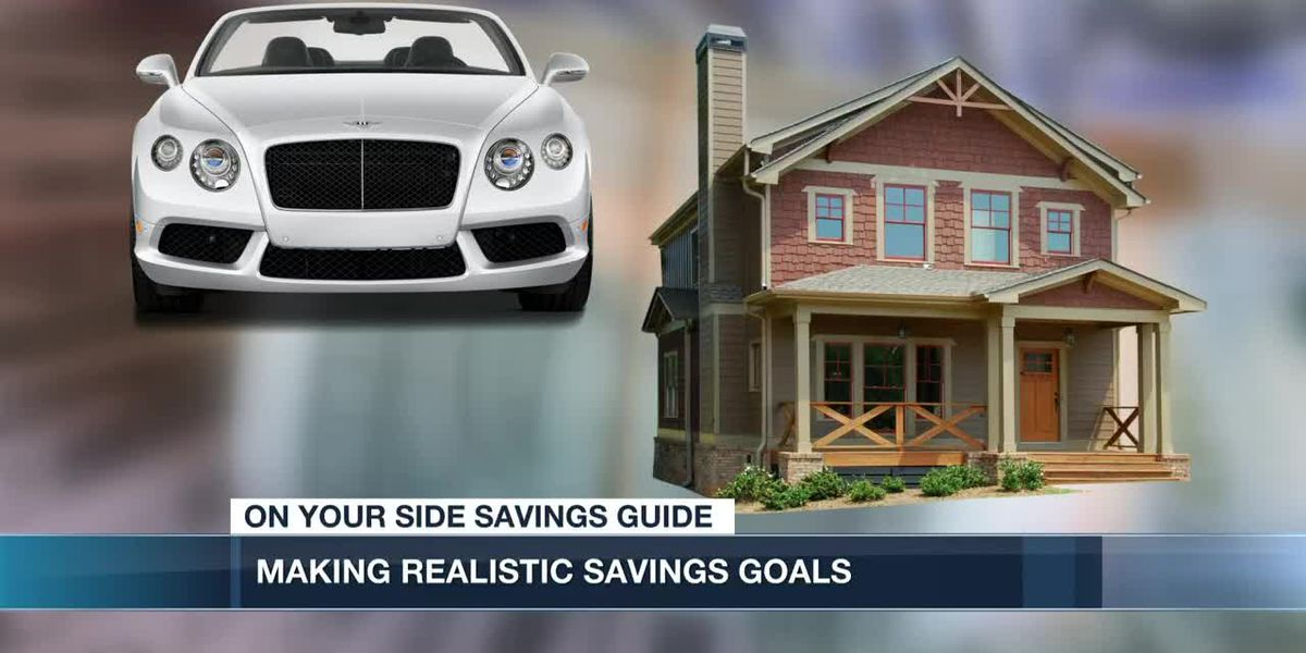 Setting realistic savings goals in the New Year