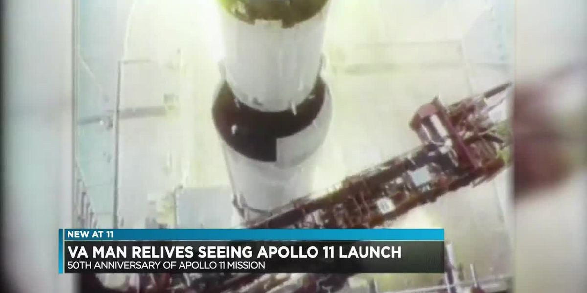 'There was a great deal of pride': Va. man remembers Apollo 11 Mission 50 years later