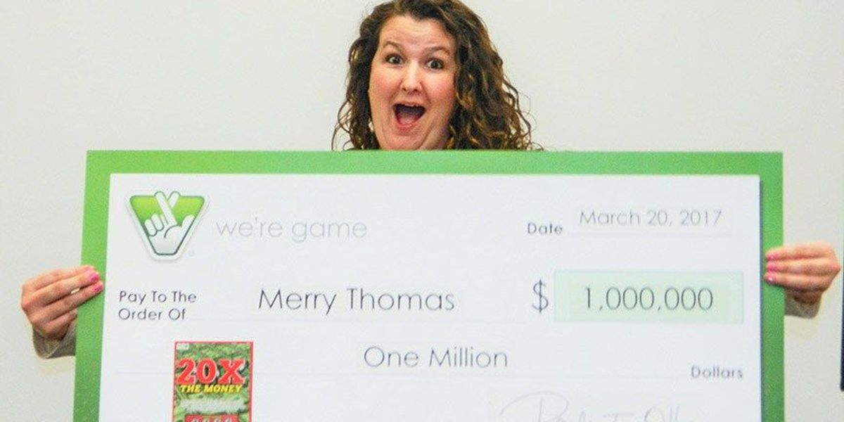 Fredericksburg woman wins $1 million prize while teaching friend how to play lottery