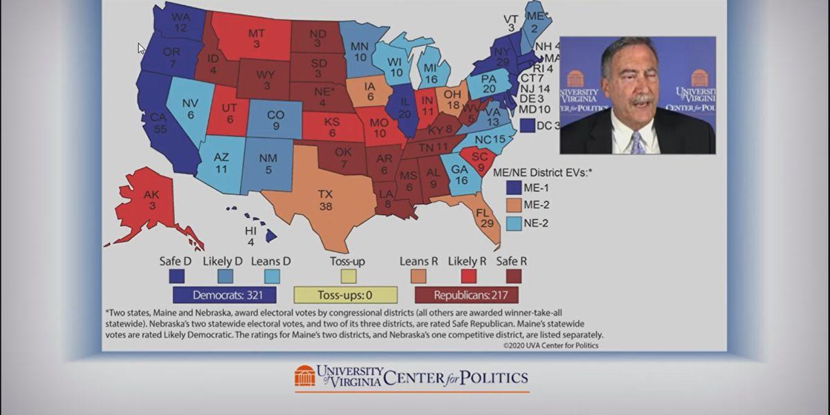 UVA Center for Politics releases final election predictions