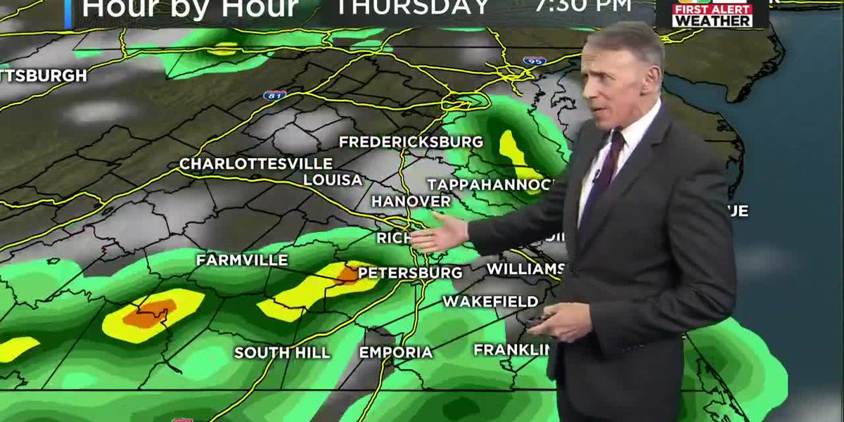Forecast: More storms Thursday, heavy rain possible Friday