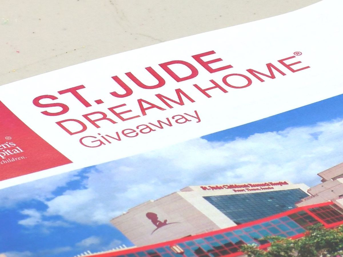 Another St. Jude dream home giveaway is in the works