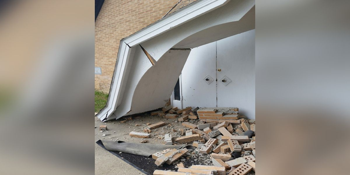 Pastor searches for driver who hit, damaged Richmond Church