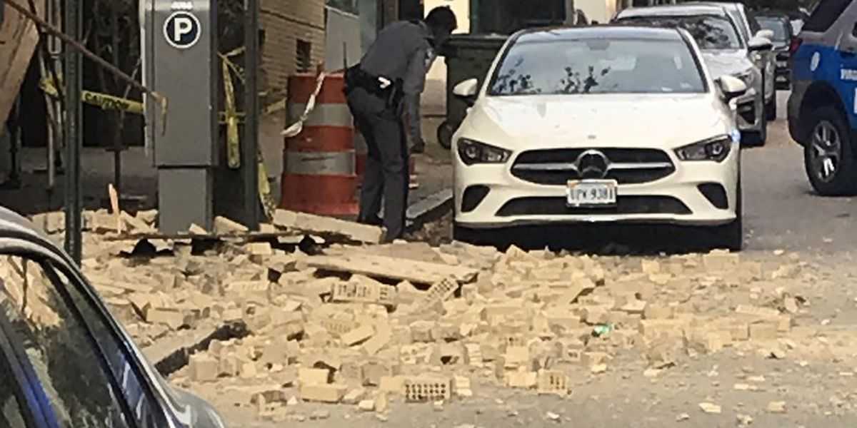 Officials warn of hazard in road near Franklin and Main streets