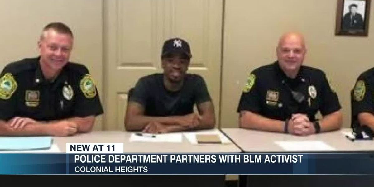 Police department partners with BLM activist