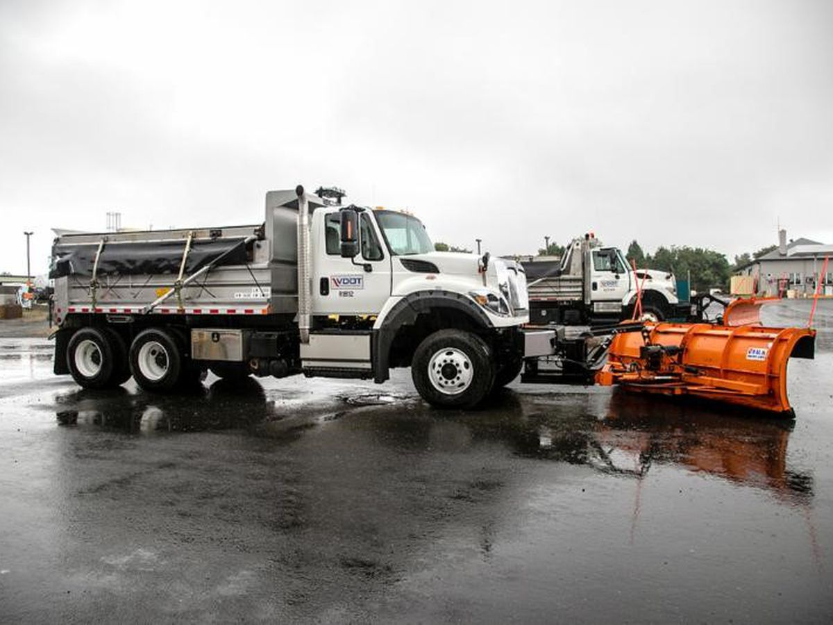 VDOT monitoring roads as snow falls across Central Virginia