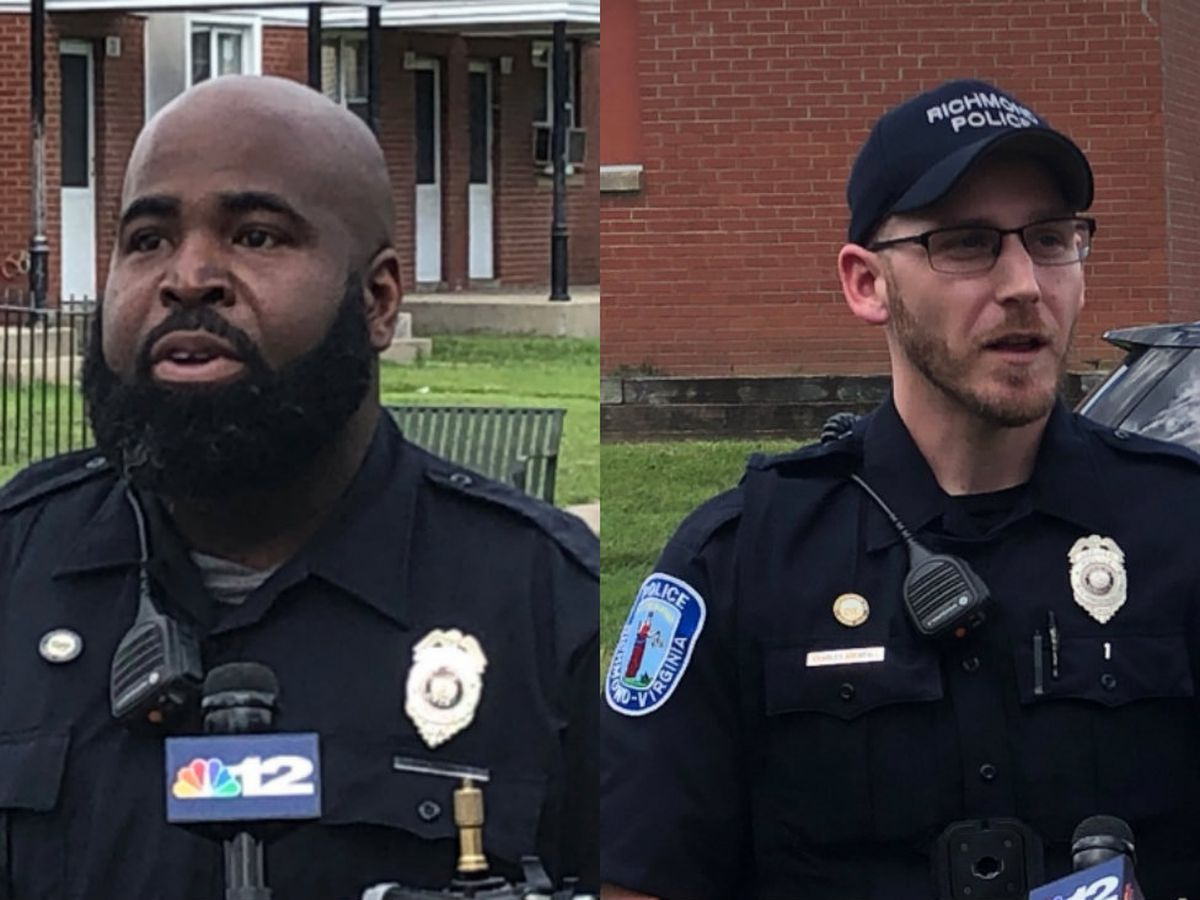 Richmond police officers save 18-year-old after being shot multiple times