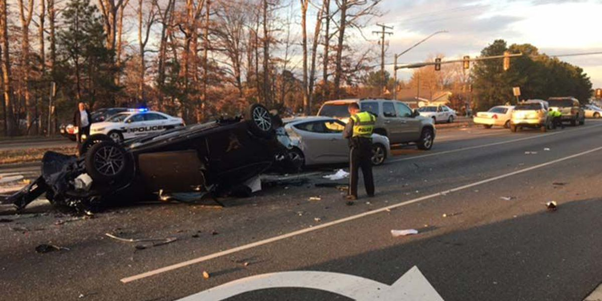 Crews rescue trapped person after crash; 2 sent to hospital
