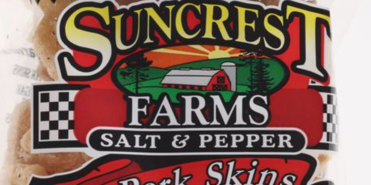 VOLUNTARY RECALL: Suncrest Farms Pork Skins