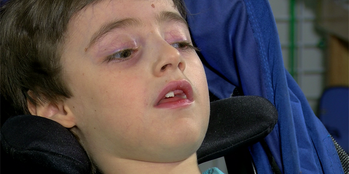 Midlothian boy with rare disease that impacts motor skills finds his voice