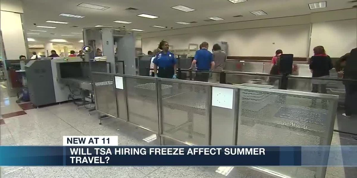 TSA hiring freeze leads to travel concerns