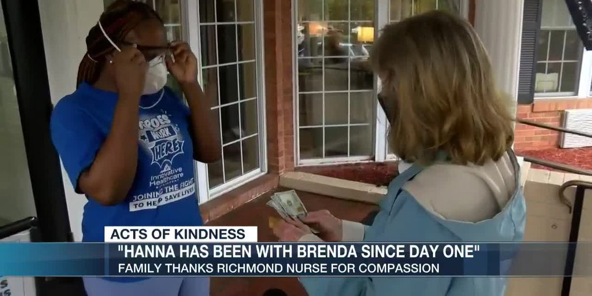 Richmond nurse goes above & beyond to keep spirits up for resident at nursing home