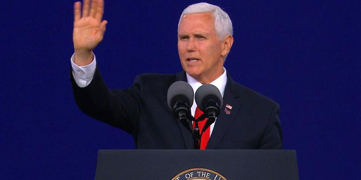 Vice President Mike Pence challenges LU graduates to stand firm against religious intolerance