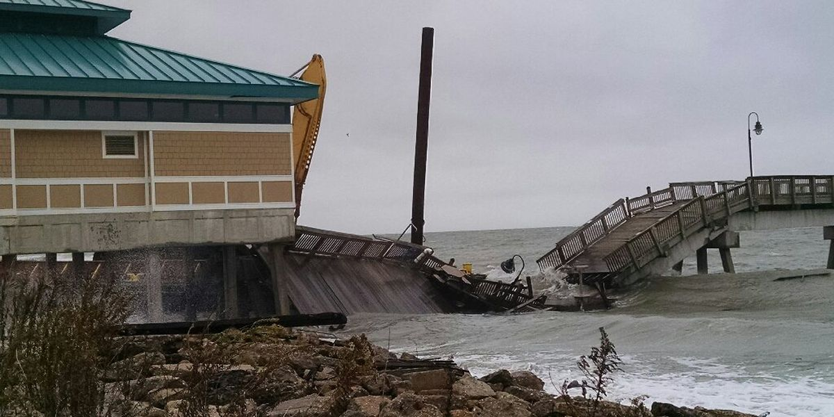 Buckroe Fishing Pier collapses in Hampton