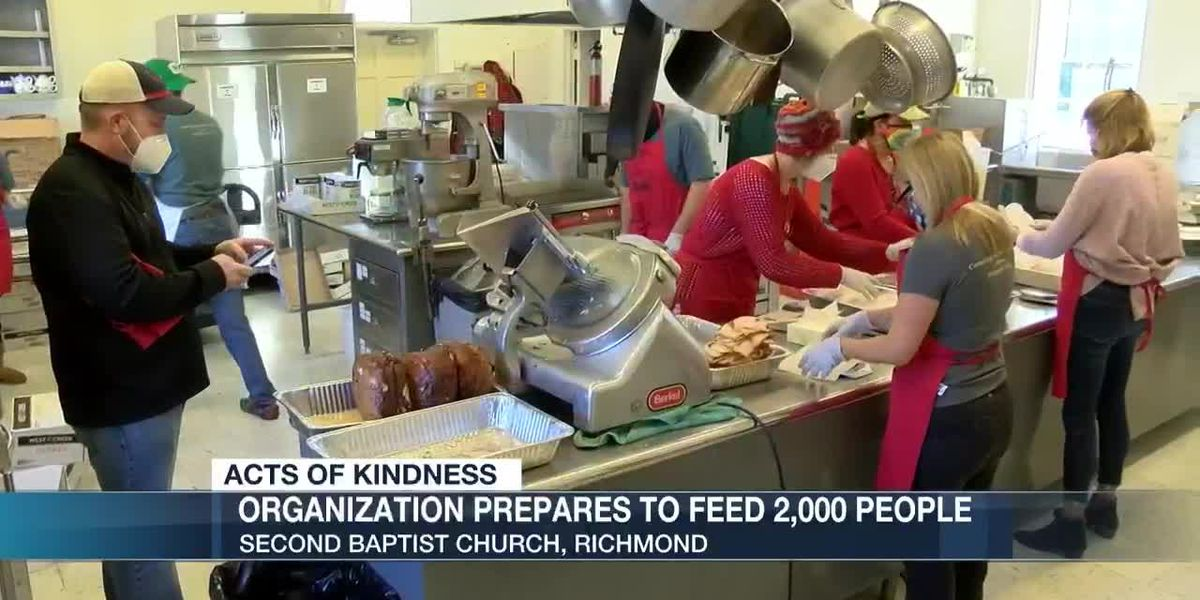 Organization prepares to feed 2,000 people in Richmond