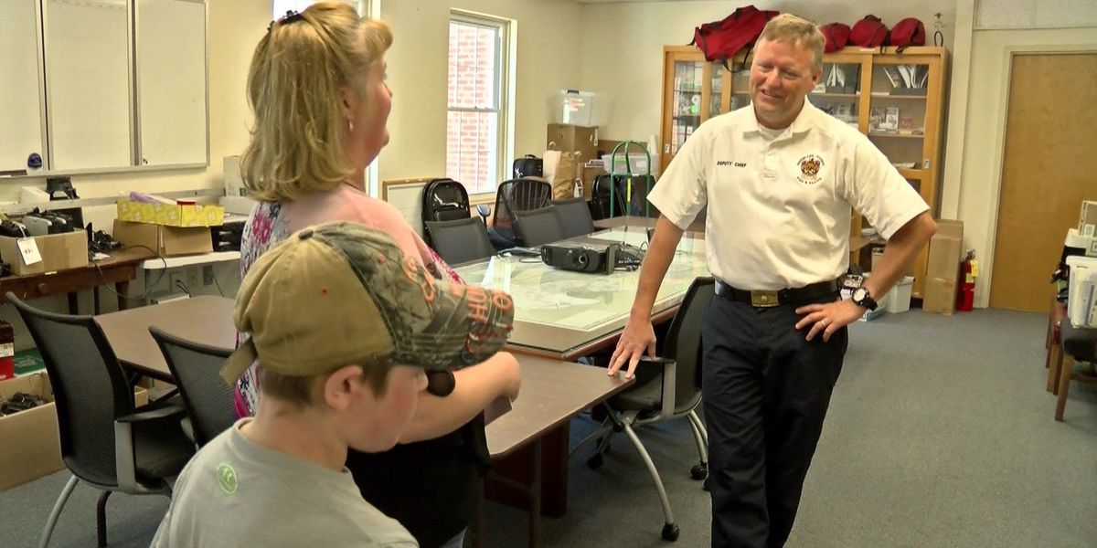 Acts of Kindness: Deputy chief honored for saving boy's life