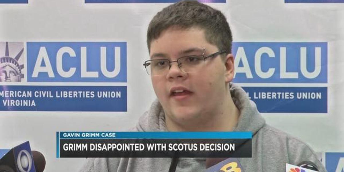 Gavin Grimm speaks out on SCOTUS decision to send transgender bathroom case to lower court