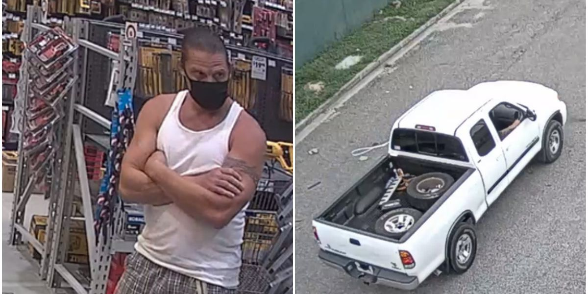 Henrico police looking for man caught on camera stealing tools from store