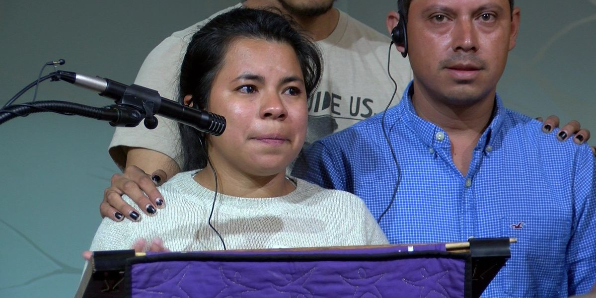 Woman illegally in country seeks asylum at church in Virginia