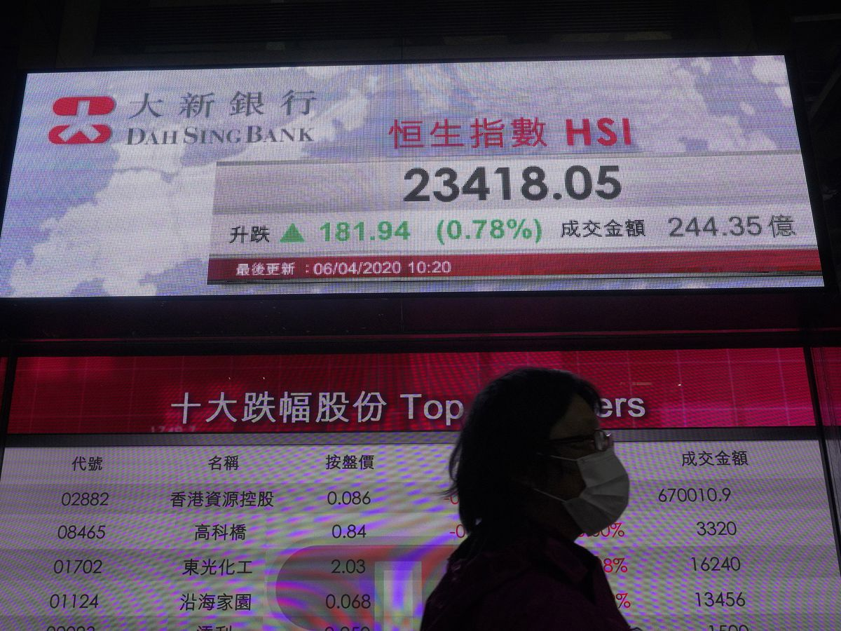 Stocks rise sharply on signs of progress in battling coronavirus