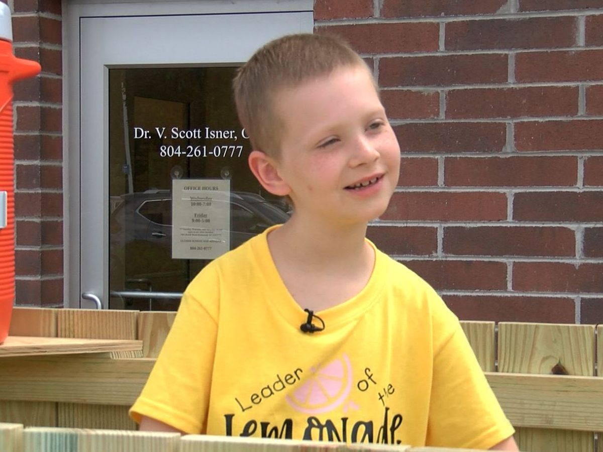 9-year-old cancer survivor raising money for others through LemonAid