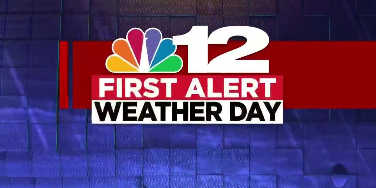 First Alert Weather Day: Late-day severe storms possible