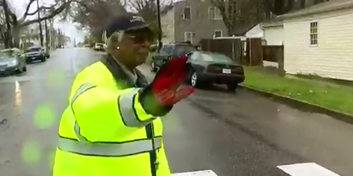 Richmond school crossing guard honored for 50 years of service