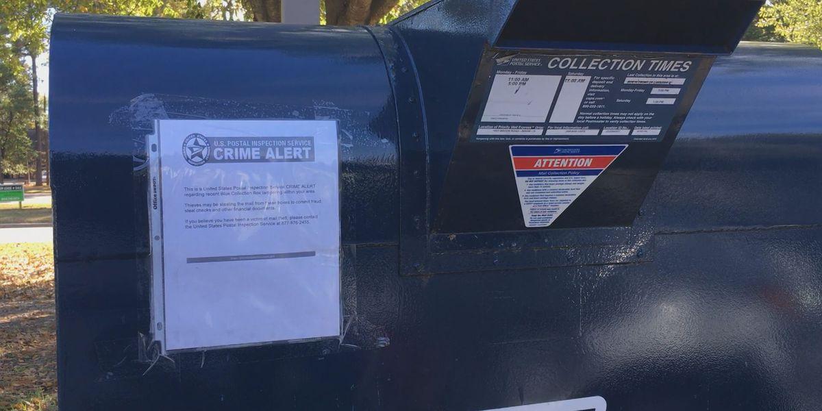 U.S. Postal Service investigating local mail theft