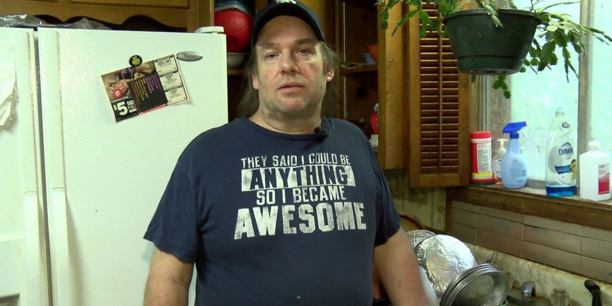 Viewer helps blind man dying from leukemia who had no access to running water