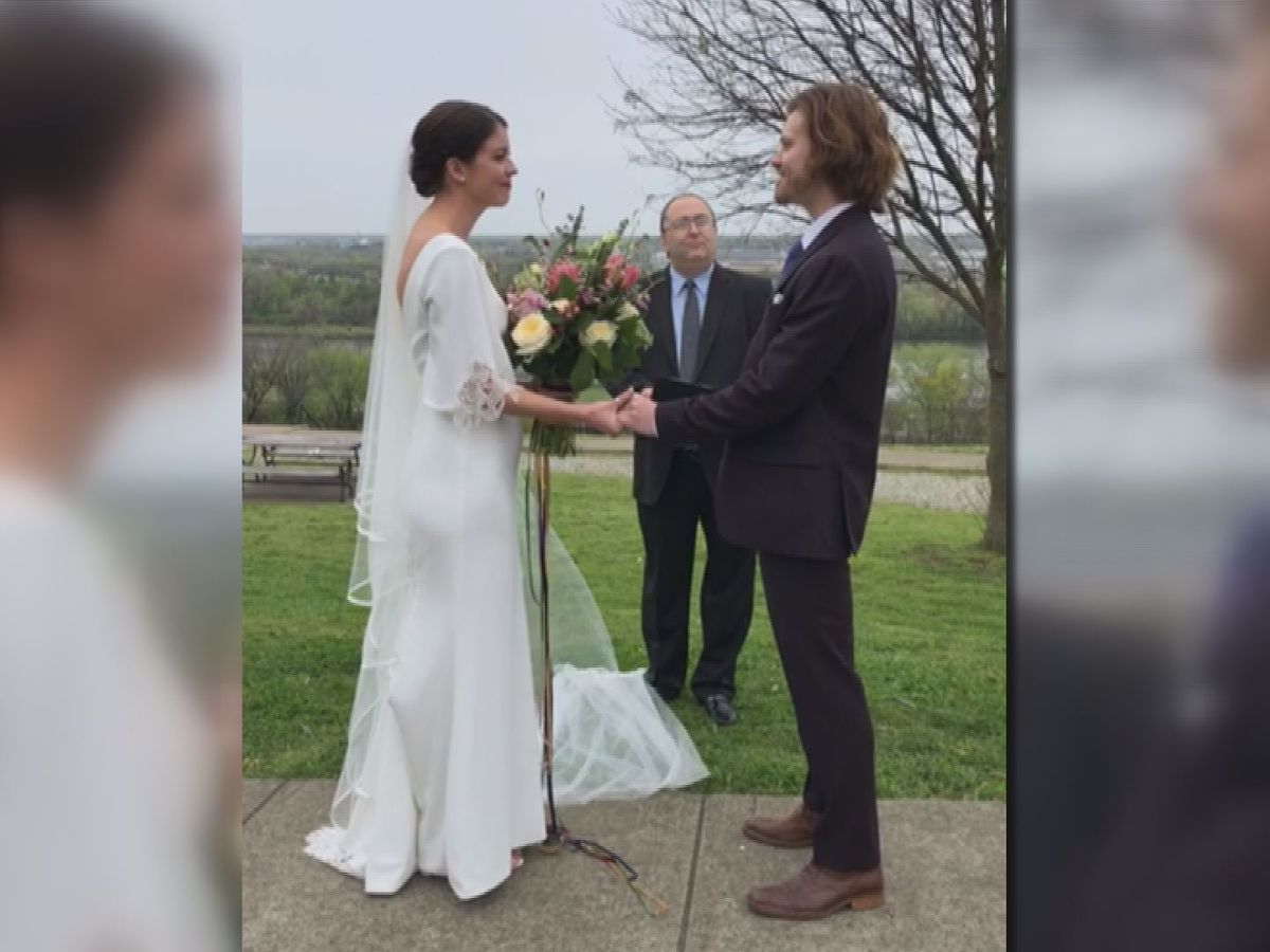 Richmond couple ties knot via Instagram live after two weeks of reinventing ceremony