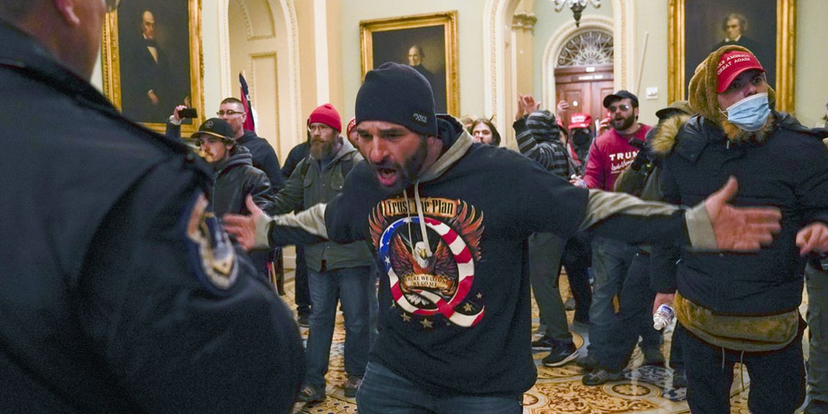 'Anti-democratic assault on our nation': Images from chaos at the Capitol