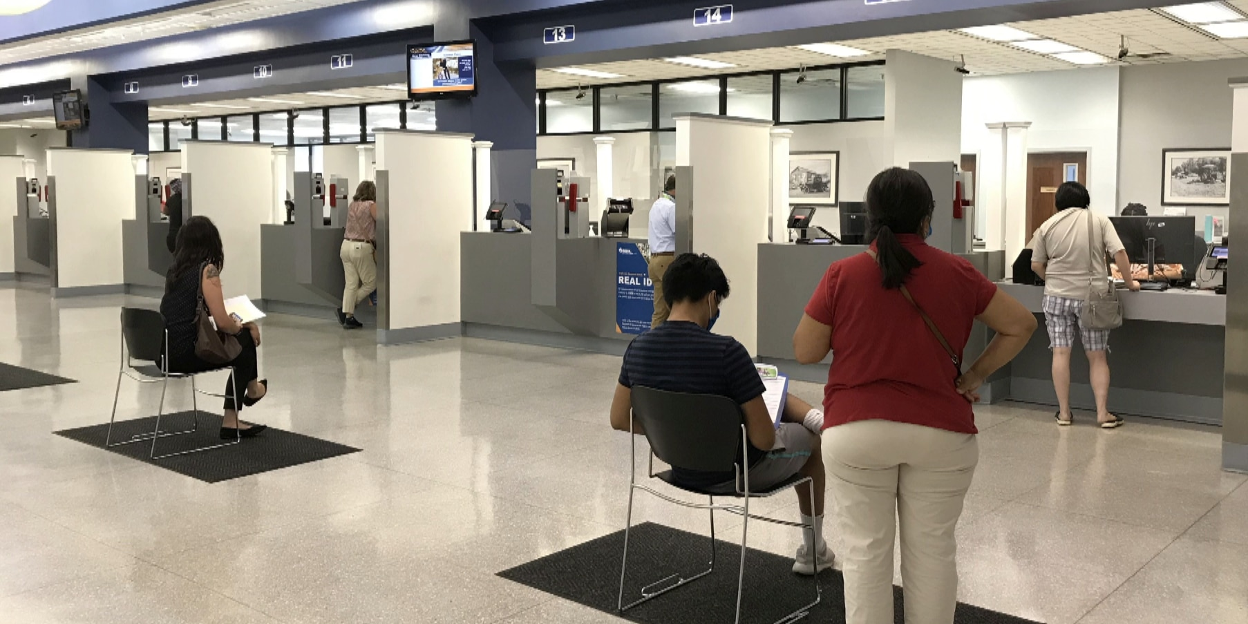 DMV challenges include scheduling appointments and 'no-shows'