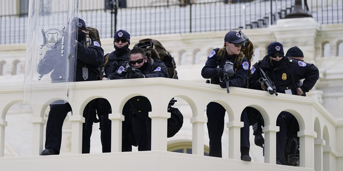 Watchdog says Capitol Police deficient at monitoring threats