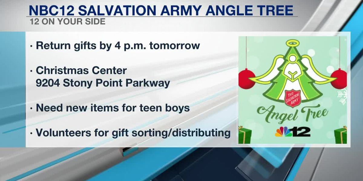 Angel Tree gifts need to be returned