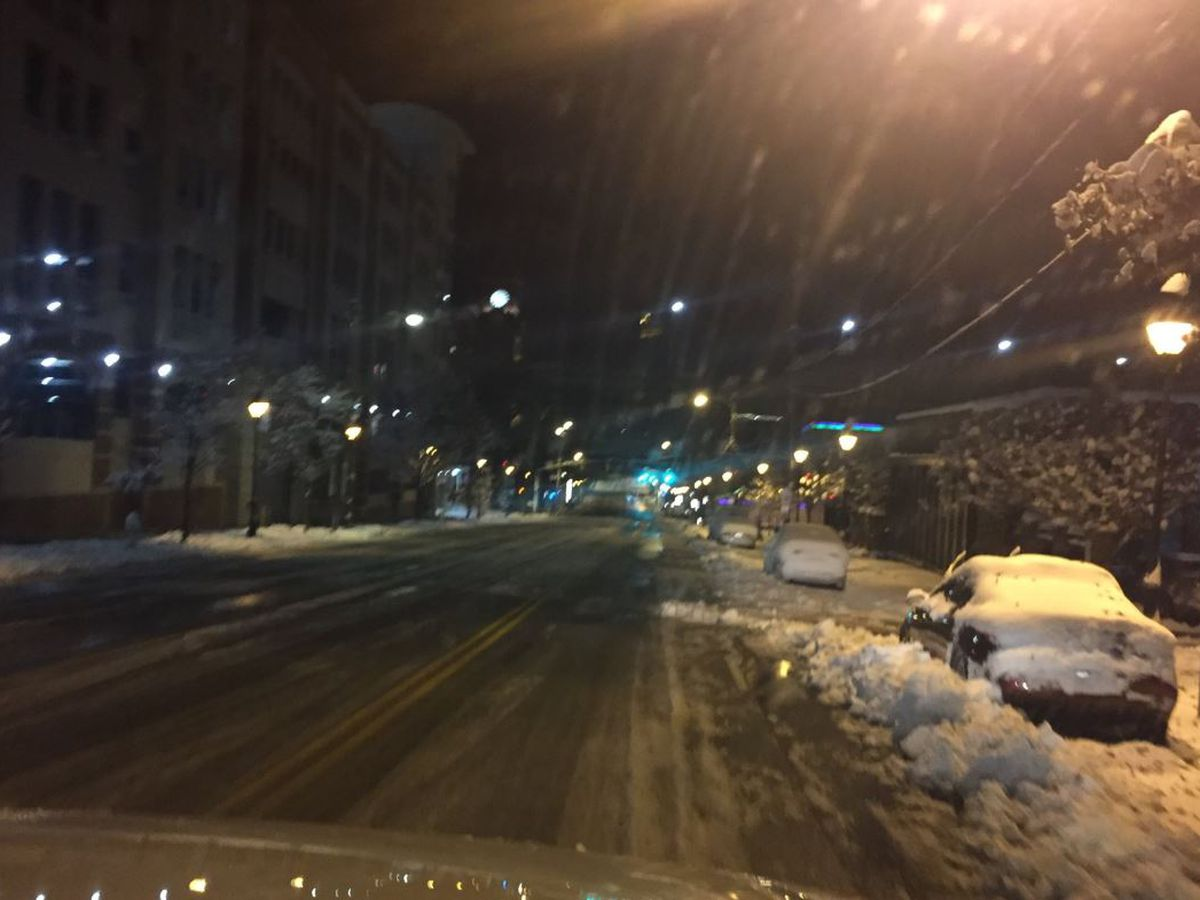 VDOT: Avoid unnecessary travel as crews continue to clear snowy roads